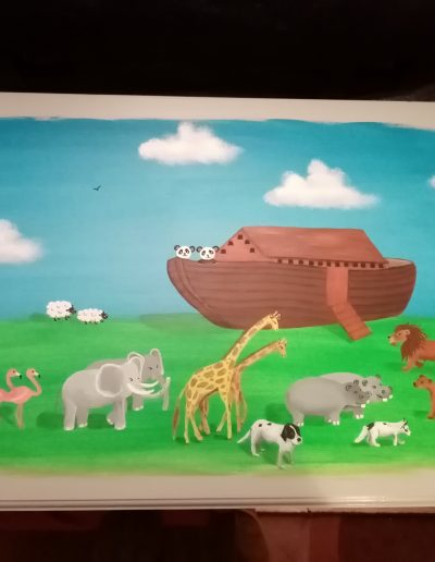 Noah's Ark Toy Box