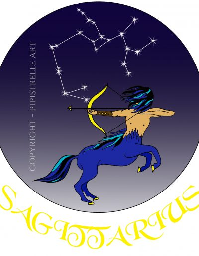 Sagittarius with constellation
