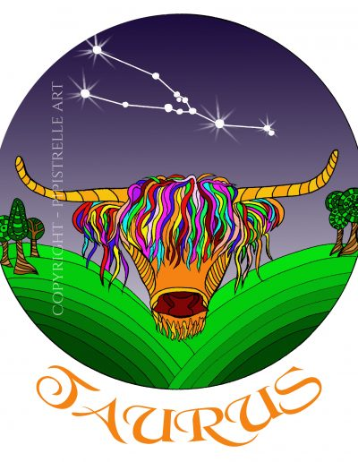 Taurus, my sign, with constellation