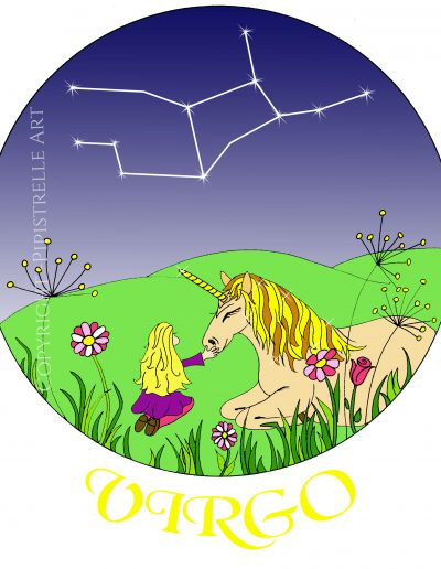 Virgo, only a virgin can approach a unicorn! With constellation